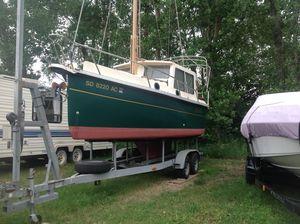 Used Nimble Kodiak Pilothouse Motor Sailor Motorsailer Sailboat For Sale