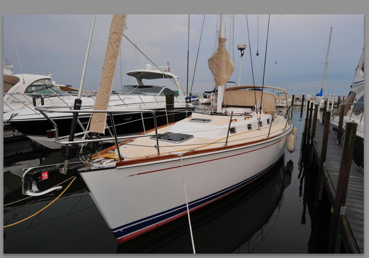 2007 Used Tartan 3700 CCR Racer and Cruiser Sailboat For
