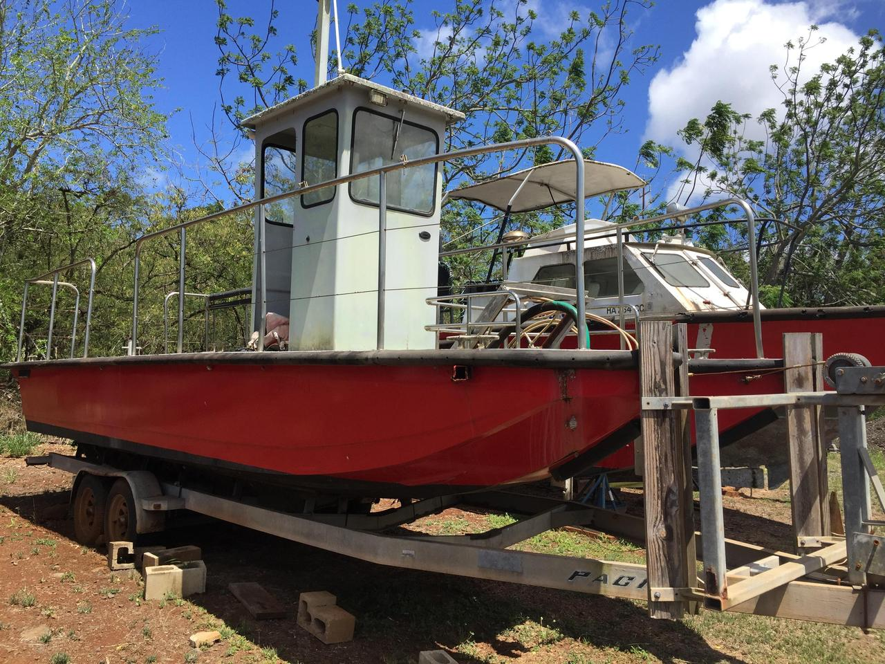 1989 Used Willard Marine Oil Skimmer - Ad31p Commercial Boat