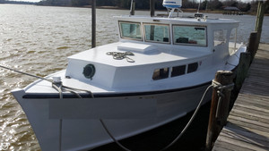 Used Chesapeake 40 Pilothouse Boat For Sale