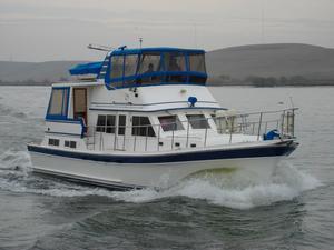 Used Bestway Cockpit Motoryacht Trawler Boat For Sale