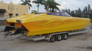 Used Motion 40 Catamaran Power Catamaran Boat For Sale