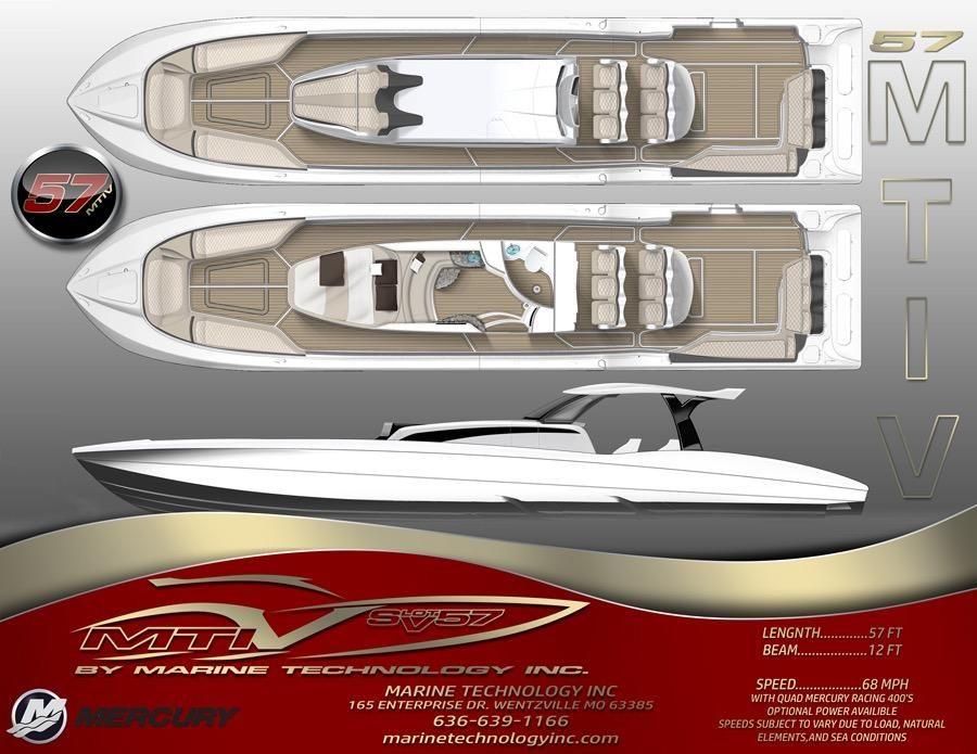 2020 New Mti V Marine Technology Inc V 57 High Performance