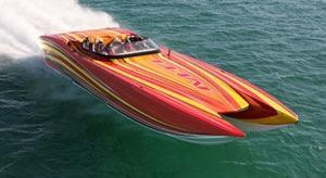 New Mti Marine Technology Inc 40 Pleasure High Performance Boat For Sale