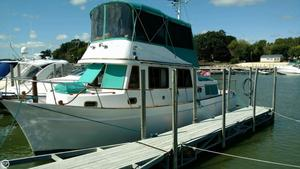 Used Marine Trader 34 DC Trawler Boat For Sale