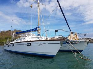 Used Catamaran Apache Sailcraftmcalpinedownie Catamaran Sailboat For Sale