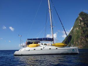 Used Fountaine Pajot Bahia 46 Catamaran Sailboat For Sale