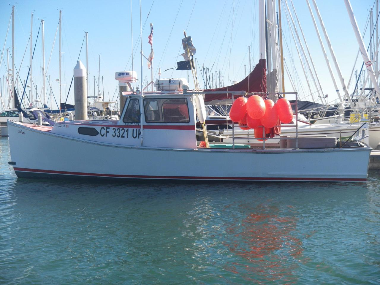 2000 Used Beal East Coast Lobster Boat Commercial Boat For