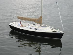 New W. D. Schock Harbor 25 Daysailer Sailboat For Sale