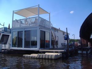 Used Skipperliner Cottage Cruiser House Boat For Sale