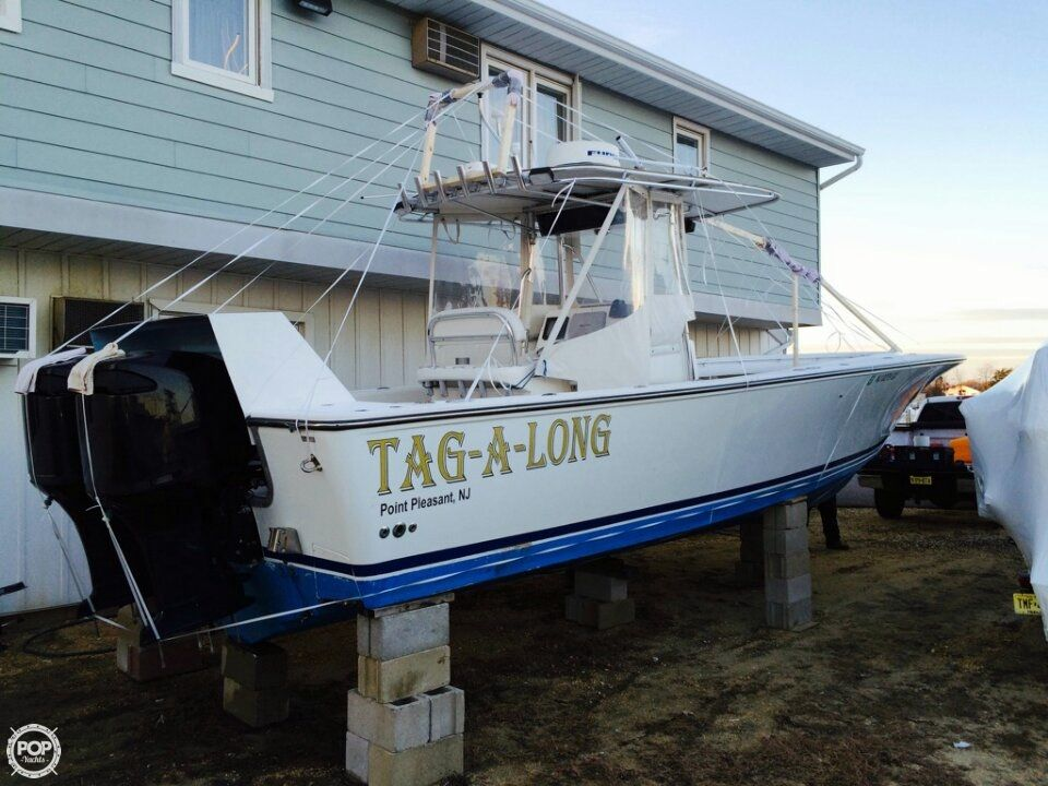 2000 used seacraft 32 master angler cc center console for Fishing boats point pleasant nj