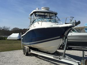 Used Triton 2690 Walk Around Center Console Fishing Boat For Sale