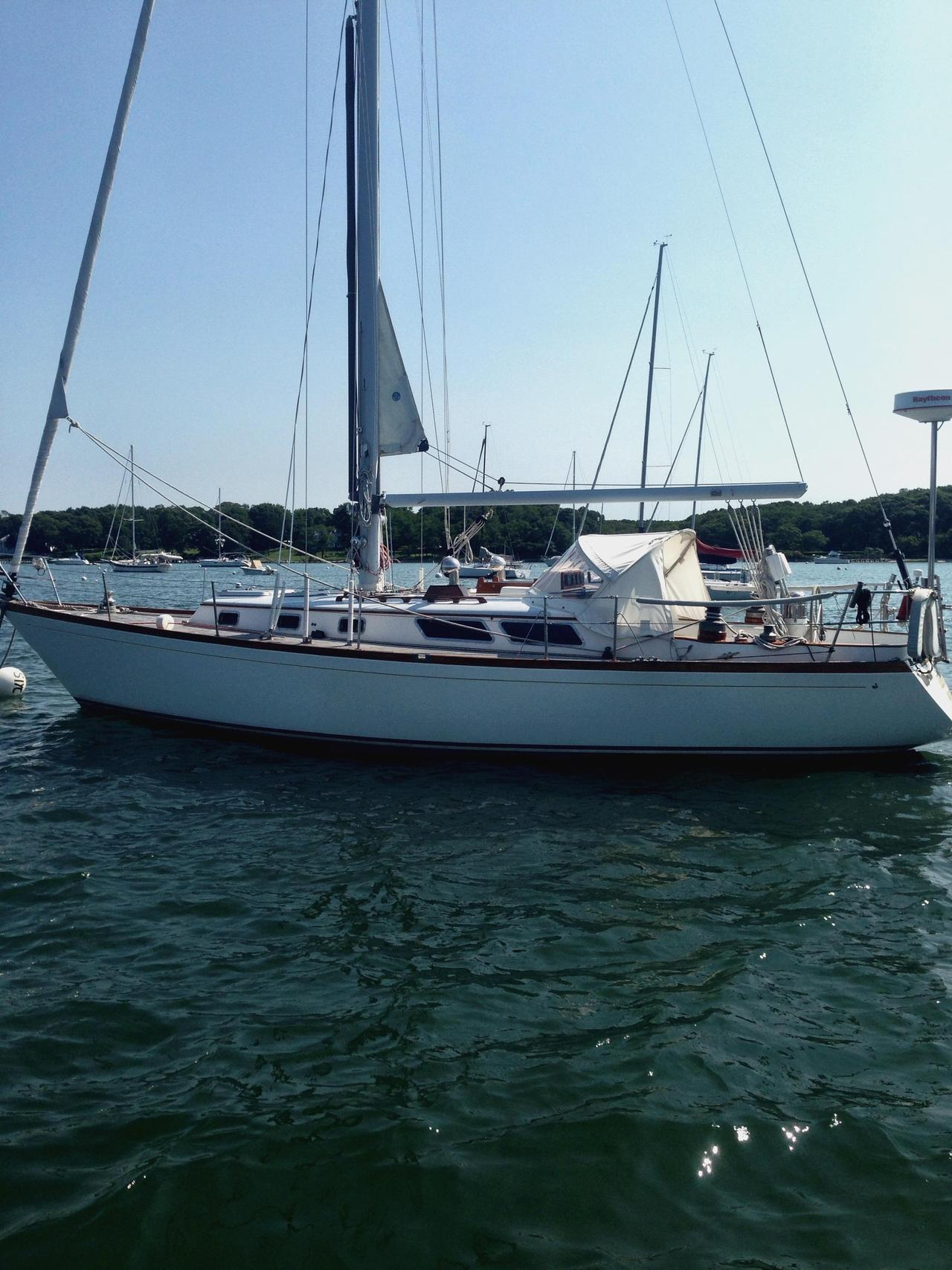 1980 Used Little Harbor Centerboard Sloop Cruiser Sailboat For Sale