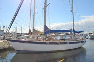 Used Hallberg-Rassy 42E Hard Top HR42 Ketch Cruiser Sailboat For Sale