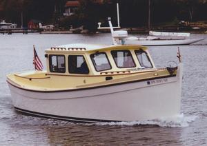 Used Chesapeake Marine Redwing 34 Lobster Boat Cruiser Boat For Sale