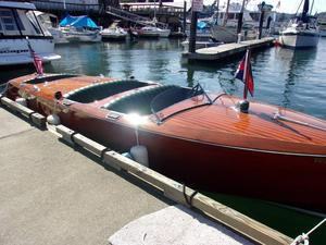 Used St. Marine Triple Hacker Design Antique and Classic Boat For Sale