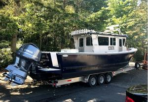 Used Cold Water Boats 35 Walkaround Commercial Boat For Sale