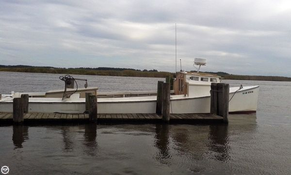 Used Jr Dudley 36 Crabber Boat For Sale