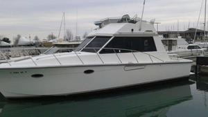 Used President 370 Sportfish Freshwater Fishing Boat For Sale