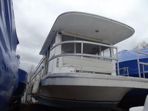 Used Gibson 42 Standard House Boat For Sale