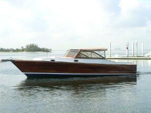 Used Rebel 36' Picnic Cruiser Express Cruiser Boat For Sale