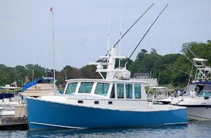 Used Northern Bay Custom Downeast Split Wheelhouse Downeast Fishing Boat For Sale