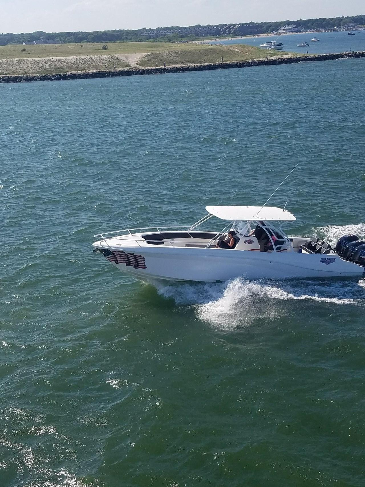 2009 Used Deep Impact 36 Open Center Console Fishing Boat For Sale