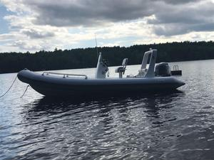 Used North Atlantic Inflatables 21 Rib Rigid Sports Inflatable Boat For Sale