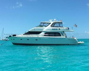 Used Carver Yachts 56' Voyager Skylounge Motor Yacht For Sale