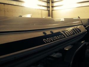 Used Novurania I/O Hard Bottom Tender Boat For Sale