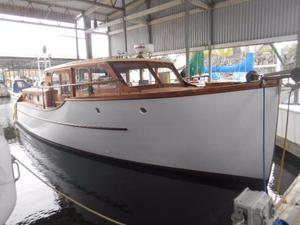 Used Monk Bridgedeck Cruiser Boat For Sale