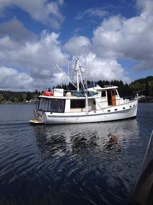Used Kadey-Krogen Troller Fishing Boat For Sale