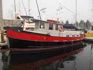 Used Kasten Cruising Tug Trawler Boat For Sale
