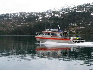 Used Catamaran Power Commercial Boat For Sale