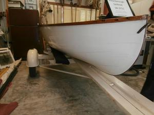 Used Peterborough Sailing Skiff Antique and Classic Boat For Sale