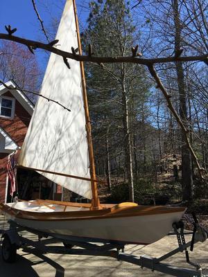 Used Bolger Design Gypsy Daysailer Sailboat For Sale