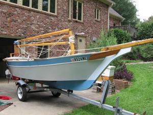 Used Custom Weekender Daysailer Sailboat For Sale
