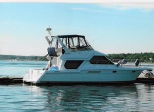 Used Carver Voyager 374 Flybridge Boat For Sale