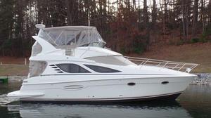 Used Silverton 38 Sport Bridge Flybridge Boat For Sale