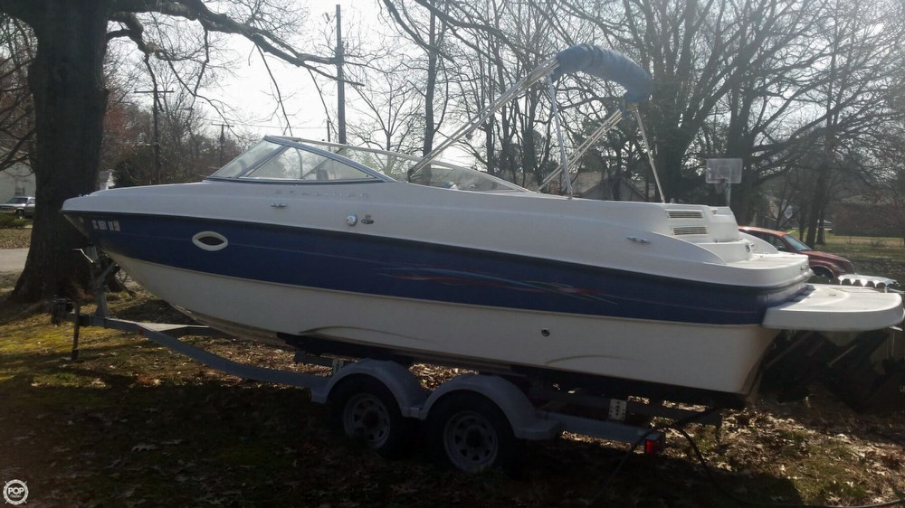 Used Bayliner 249 Deck Boat For Sale