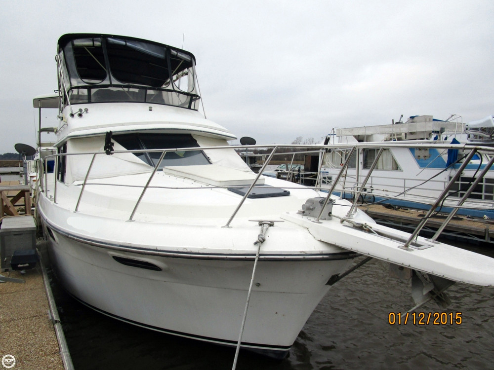 Used Carver 3807 Aft Cabin Aft Cabin Boat For Sale