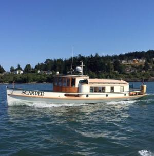 Used Charles Harris 34 Fantail Antique and Classic Boat For Sale