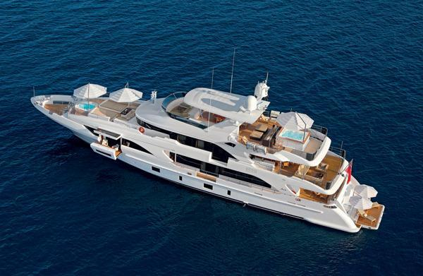 2017 New Benetti Classic Supreme 132 Mega Yacht For Sale