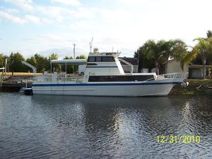 Used Neuville Boat Works Custom Pilothouse Boat For Sale