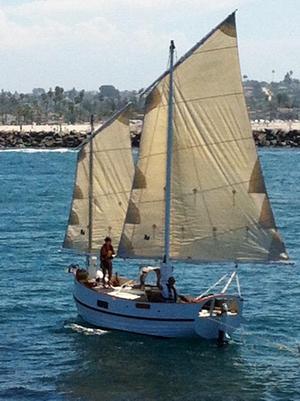 Used Devlin/bolger Sharpie Schooner Sailboat For Sale