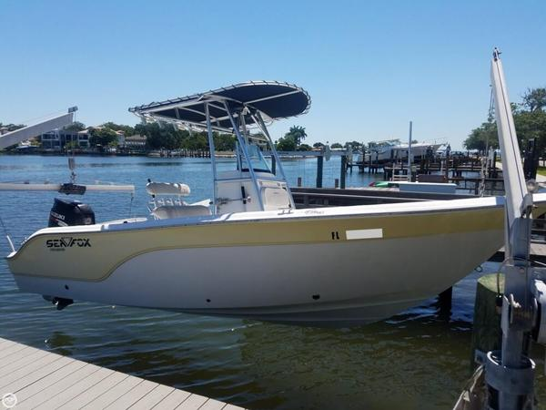 Used Sea Fox 216 Pro CC Center Console Fishing Boat For Sale