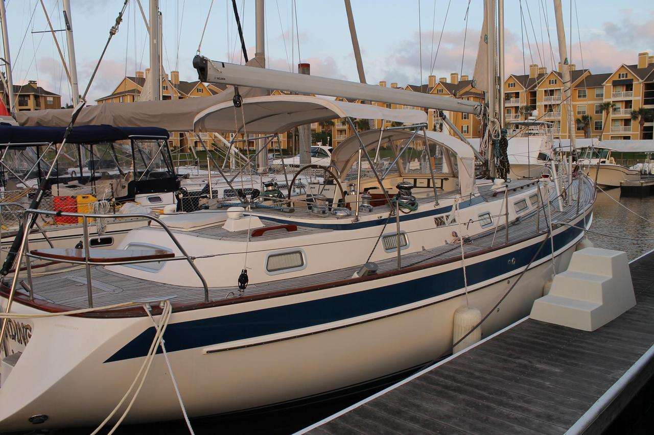 2000 Used Hallberg-Rassy 42F Cutter Sailboat For Sale - $299,000