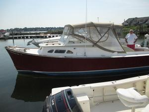 Used Brownell 26 Downeast Fishing Boat For Sale