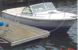 Used Limestone 24 Runabout Cuddy Cabin Boat For Sale
