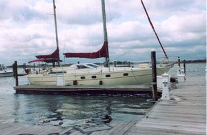 Used Ferretti Yachts Altura 422 Ketch Rigged Motorsailer Sailboat For Sale